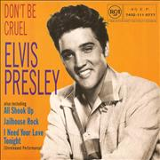 Click here for more info about 'Elvis Presley - Don't Be Cruel EP - Glossy Picture Sleeve'