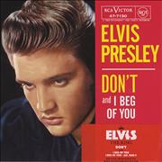 Elvis Presley Don't UK CD single