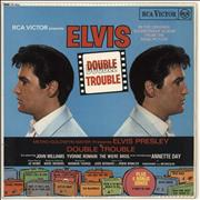 Click here for more info about 'Elvis Presley - Double Trouble - Red Spot'