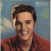 Elvis Presley Elvis - 1st - DG - Scalloped UK vinyl LP