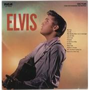 Elvis Presley Elvis - 70s Issue USA vinyl LP