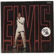 Elvis Presley Elvis - TV Special - Stickered Sleeve Germany vinyl LP