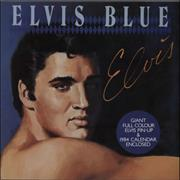 Click here for more info about 'Elvis Presley - Elvis Blue - Blue Vinyl - No Poster/Inserts'