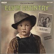 Click here for more info about 'Elvis Presley - Elvis Country + Print - Laminated'