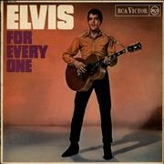 Click here for more info about 'Elvis Presley - Elvis For Everyone - Red Spot - VG'