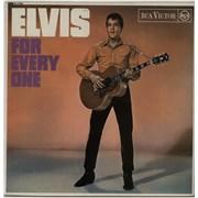 Elvis Presley Elvis For Everyone - Stereo - Red Spot UK vinyl LP