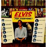 Elvis Presley Elvis For Everyone UK vinyl LP