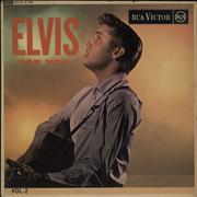 Click here for more info about 'Elvis Presley - Elvis For You Vol. 2 EP - Round Centre - VG'