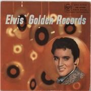 Elvis Presley Elvis' Golden Records - 1st - 4-page booklet - EX UK vinyl LP