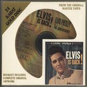 Elvis Presley Elvis Is Back! + slipcase & Sealed USA CD album