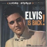 Elvis Presley Elvis Is Back! - 180 Gram USA 2-LP vinyl set