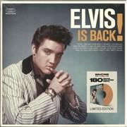 Elvis Presley Elvis Is Back - 180gm Orange Vinyl - Sealed UK vinyl LP