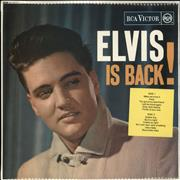 Click here for more info about 'Elvis Presley - Elvis Is Back - Red Spot - Single Pocket'