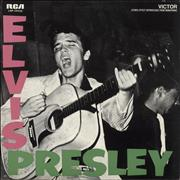 Elvis Presley Elvis Presley USA vinyl LP