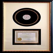 Click here for more info about 'Elvis Presley's Personal Acetate of Danny Boy'