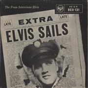"Elvis Presley Elvis Sails - 2nd - EX UK 7"" vinyl"