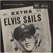 Click here for more info about 'Elvis Presley - Elvis Sails EP - Orange Label'