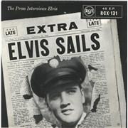 Click here for more info about 'Elvis Presley - Elvis Sails - 1st - EX'