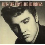 Elvis Presley Elvis: The First Live Recordings Germany vinyl LP
