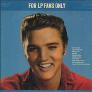 Click here for more info about 'Elvis Presley - For LP Fans Only - 3rd'