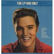 Elvis Presley For LP Fans Only - 3rd USA vinyl LP