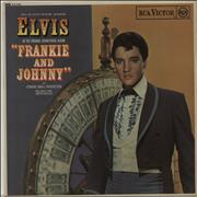 Elvis Presley Frankie And Johnny - 1st UK vinyl LP