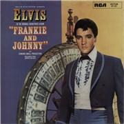 Elvis Presley Frankie And Johnny France vinyl LP