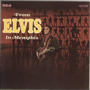 Elvis Presley From Elvis In Memphis - Front Laminated Picture Sleeve UK vinyl LP