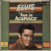 Click here for more info about 'Elvis Presley - Fun In Acapulco - 1st - EX'