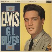 Click here for more info about 'Elvis Presley - G.I. Blues - 1st - EX'