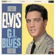 Elvis Presley G.I. Blues - 3rd - US Vinyl UK vinyl LP