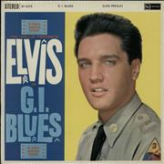 Click here for more info about 'Elvis Presley - G.I. Blues - Orange - Laminated'