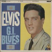 Click here for more info about 'Elvis Presley - G.I. Blues - Orange'