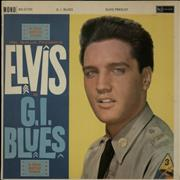 Click here for more info about 'Elvis Presley - G.I. Blues - 2nd - EX'