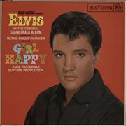 Click here for more info about 'Elvis Presley - Girl Happy - Red Spot - EX'