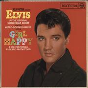 Click here for more info about 'Elvis Presley - Girl Happy - Red Spot'