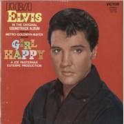 Elvis Presley Girl Happy France vinyl LP
