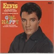 Elvis Presley Girl Happy Germany vinyl LP
