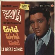 Click here for more info about 'Elvis Presley - Girls! Girls! Girls! - 1st'