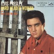 "Elvis Presley Hard Headed Woman USA 7"" vinyl"
