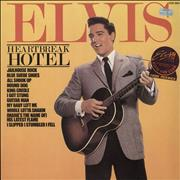 Click here for more info about 'Elvis Presley - Heartbreak Hotel - stickered p/s'