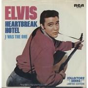 "Elvis Presley Heartbreak Hotel USA 7"" vinyl"