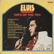 Elvis Presley Hits Of The 70's - 1st UK vinyl LP