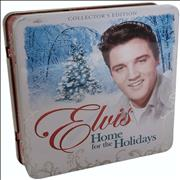 Click here for more info about 'Elvis Presley - Home For The Holidays - Tin With Candle'