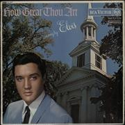 Click here for more info about 'Elvis Presley - How Great Thou Art - Red Spot - VG'