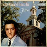 Click here for more info about 'Elvis Presley - How Great Thou Art - Red Spot'