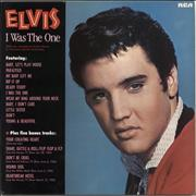 Elvis Presley I Was The One UK vinyl LP
