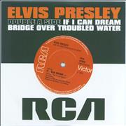 Click here for more info about 'Elvis Presley - If I Can Dream / Bridge Over Troubled Water'