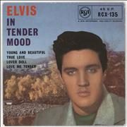 Click here for more info about 'Elvis Presley - In Tender Mood - 1st - VG'