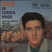 "Elvis Presley In Tender Mood - 2nd UK 7"" vinyl"